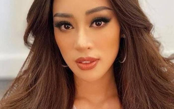 Khánh Vân bị bỏng nhẹ trong lúc làm tóc chuẩn bị cho đêm Chung kết Miss Universe