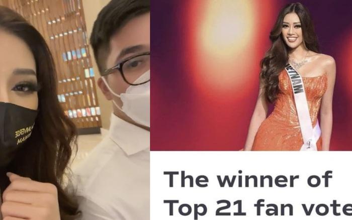 Phản ứng gây sốt của Khánh Vân khi biết tin mình lập kỷ lục vote cao nhất lịch sử Miss Universe