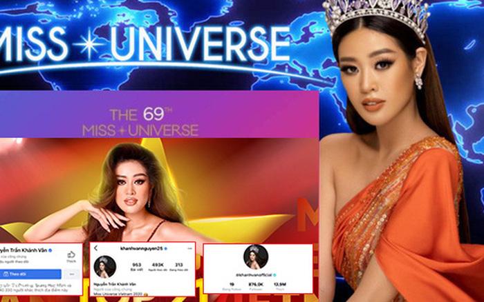 Độ hot của Hoa hậu Khánh Vân trên mạng xã hội đã tăng như thế nào sau Miss Universe?