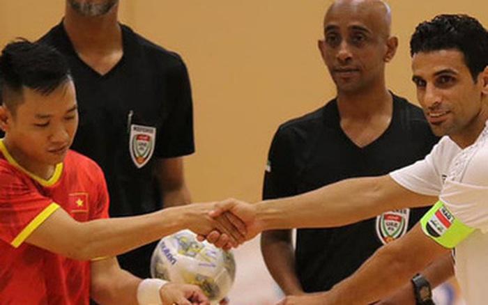 Việt Nam phải bỏ tiền phụ chủ nhà UAE điều chỉnh mặt sân thi đấu play-off Futsal World Cup?