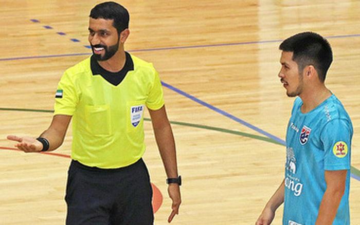 UAE cảnh cáo Thái Lan vì đưa tin sai lệch ở play-off Futsal World Cup