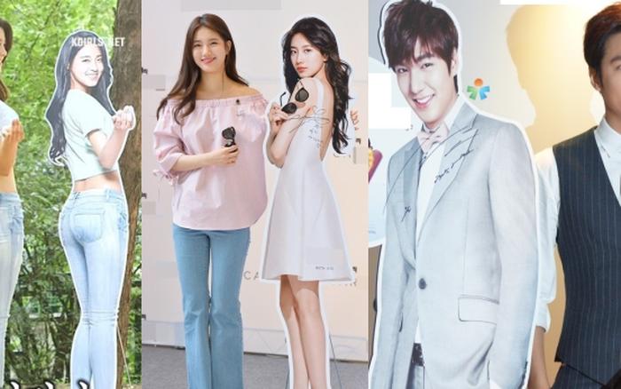Sao Hàn đọ sắc với chính standee của mình: Seolhyun - Yoona thành