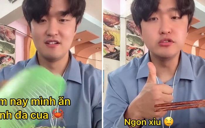 Clip triệu view của anh chàng người Hàn đi ăn món Việt nhận về cả tá lời khen vì một chi tiết đặc biệt