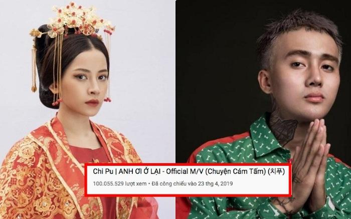 Giữa drama bủa vây cả Chi Pu lẫn Đạt G, MV Anh Ơi Ở Lại vẫn âm thầm lập thành tích cực khủng