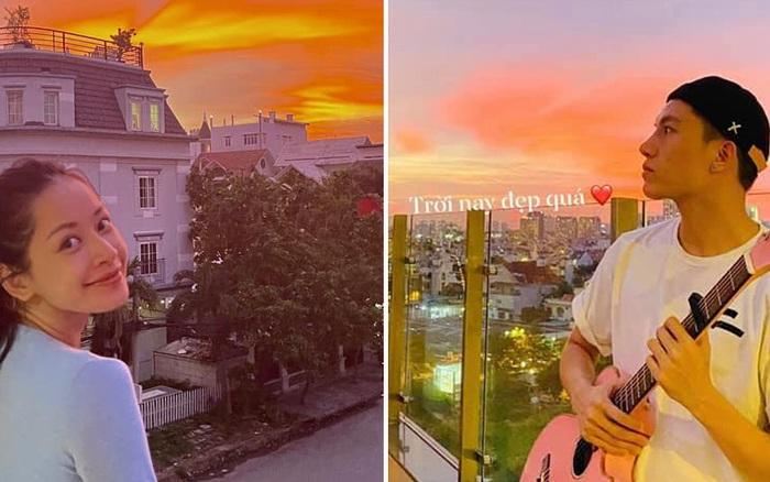 Cả Sài Gòn cùng nhau check in hoàng hôn đẹp nức lòng chiều nay: Chi Pu, Văn Mai Hương, Anh Tú cũng không nằm ngoài cuộc