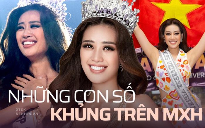 Không chỉ có nhan sắc, Hoa hậu Khánh Vân còn sở hữu nhiều chỉ số khủng trên mạng xã hội