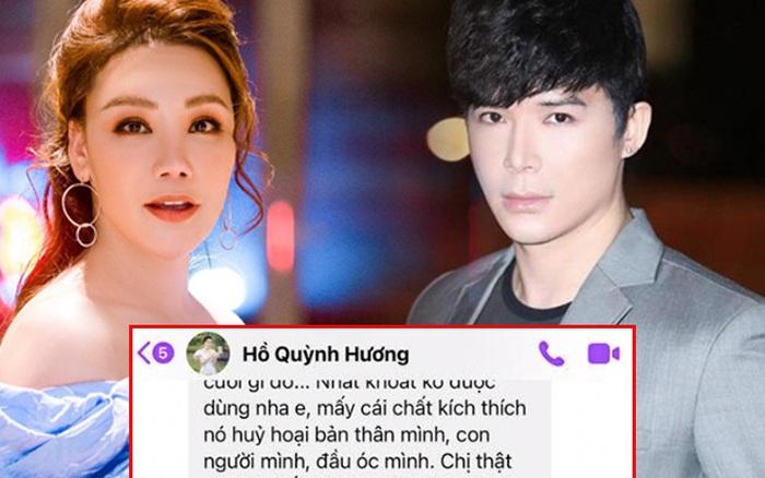 Hồ Quỳnh Hương lo lắng nhắn tin nhắc nhở