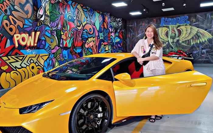 Vừa đổi màu, siêu xe Lamborghini Huracan LP610-4 hàng hiếm bất ngờ về tay nữ đại gia mỹ phẩm Bạc Liêu