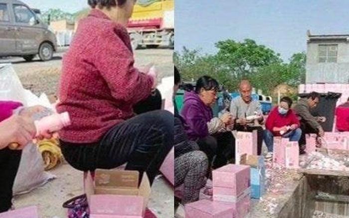 Fan Thanh Xuân Có Bạn gây bức xúc khi thuê người đổ bỏ 270.000 chai sữa xuống cống để lấy phiếu vote cho Idol