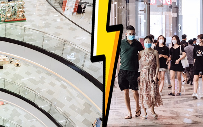 Trung tâm thương mại Sài Gòn ra sao giữa đợt dịch Covid-19 thứ 4: Nơi thì vắng hoe, chỗ vẫn thấy rất đông người check-in