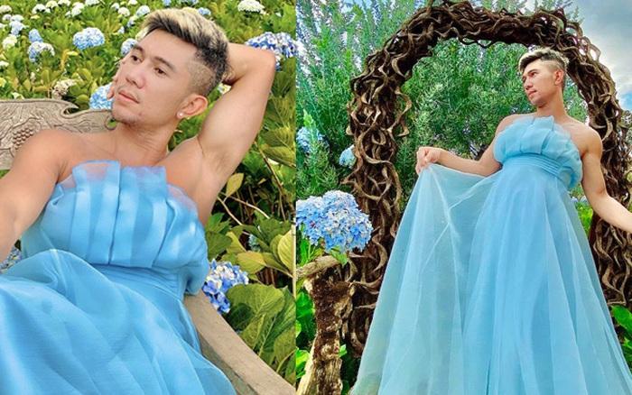 Lương Bằng Quang bị la ó vì diện váy bèo nhún làm lố phản cảm giữa địa điểm du lịch, netizen khóc ròng: