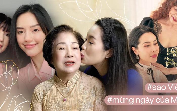 Sao Việt mừng Ngày của Mẹ: Orange bị mẹ