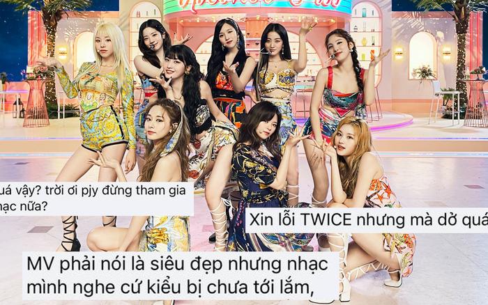 Tranh cãi MV comeback của TWICE: Vnet chê ngang phè, Knet lại khen nhạc chill?