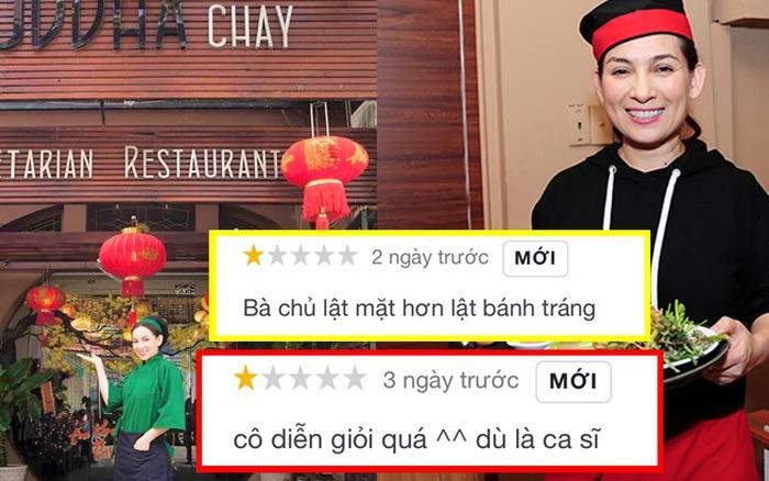 Nhà hàng chay của Phi Nhung hứng