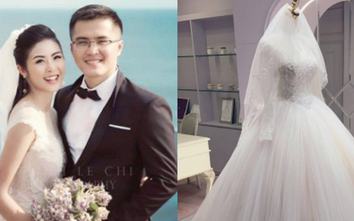 Hoa hậu Ngọc Hân chính thức hé lộ váy cưới, chỉ 1 chi tiết đã chứng minh hôn lễ hoành tráng đến tới nơi rồi!