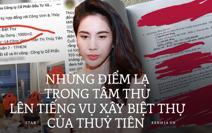 Netizen soi điểm bất thường trong tâm thư Thuỷ Tiên trần tình về biệt thự: Giấy tờ, thời gian bất hợp lý, chi phí không thể là 3,2 tỷ?