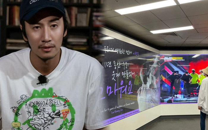Kwang Soo check in tại bảng quảng cáo fan quốc tế tặng, ảnh tại fan meeting Việt Nam gây chú ý!