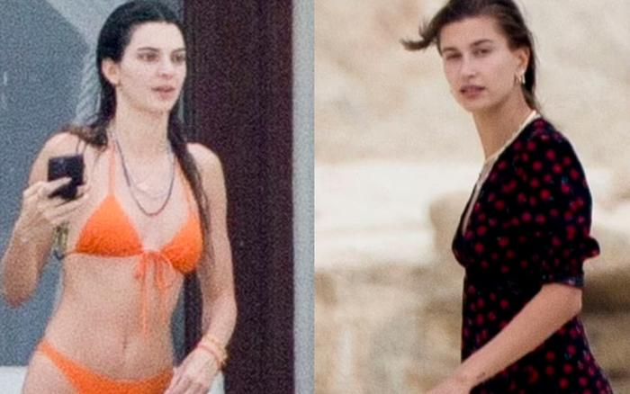 Đôi bạn thân siêu mẫu 9x đánh lẻ đi biển: Kendall và vợ Justin cùng khoe body như tạc tượng, nhưng mặt mộc của ai nhỉnh hơn?