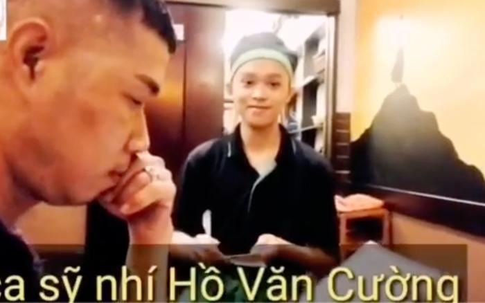 Netizen tranh cãi đoạn clip Hồ Văn Cường đi phục vụ bàn, không ở ru rú trong phòng 24/24 như lời Phi Nhung nói?
