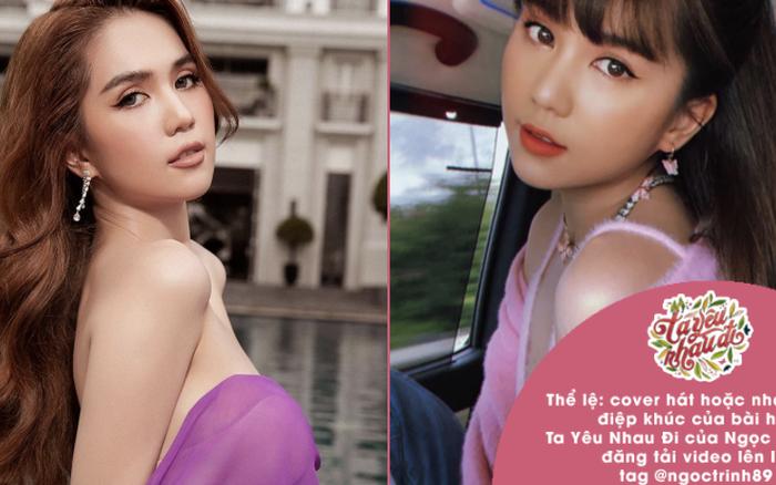 Ngọc Trinh trao thưởng nửa triệu cho ai cover hay nhất ca khúc đầu tay, netizen trêu: