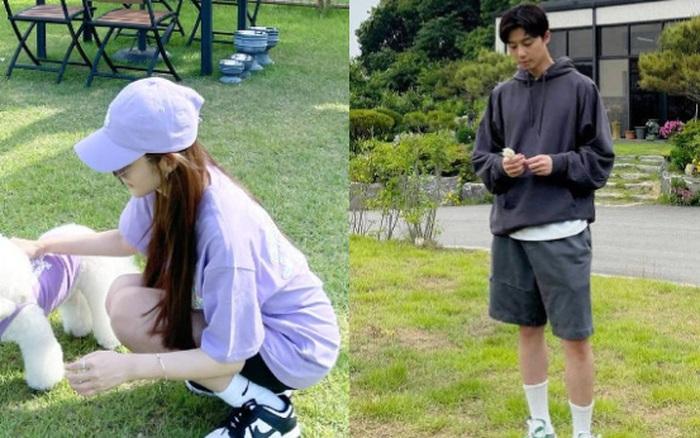 """Chỉ với 1 bức ảnh Park Min Young đã lộ đến 4 """"hint"""" hẹn hò Park Seo Joon, đáng ngờ nhất là nhẫn đôi báo hiệu tin vui?"""