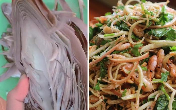 Một bộ phận của cây chuối được người Việt sáng tạo thành món ăn cực ngon nhưng không phải ai cũng từng được thử