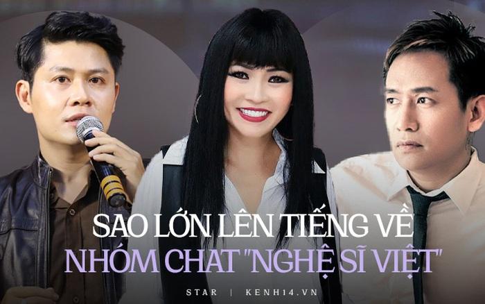 Đã có 7 sao Việt lên tiếng về chatroom
