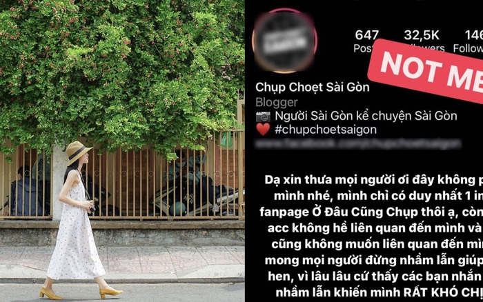 Chỉ vì chụp chung 1 cái cây, 2 tài khoản Instagram nổi tiếng Sài Gòn
