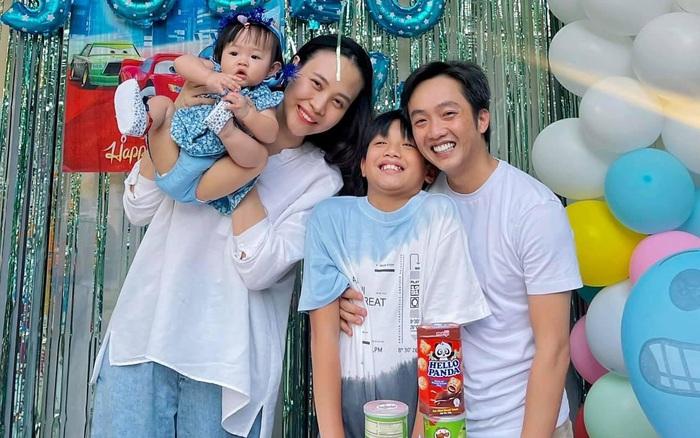 Vợ chồng Cường Đô La tổ chức sinh nhật cho Subeo tại villa sang chảnh, nụ cười hạnh phúc của cả gia đình thấy mà ngưỡng mộ - kết quả vietlott 09022020
