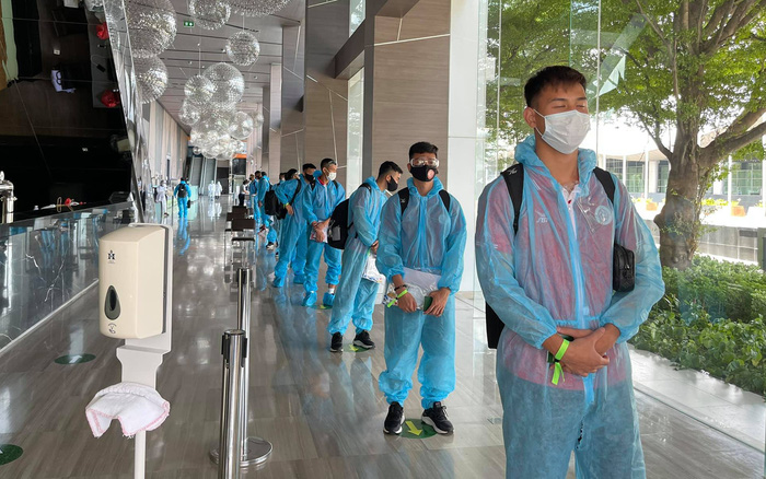 CLB Viettel có mặt tại Thái Lan sau chuyến bay