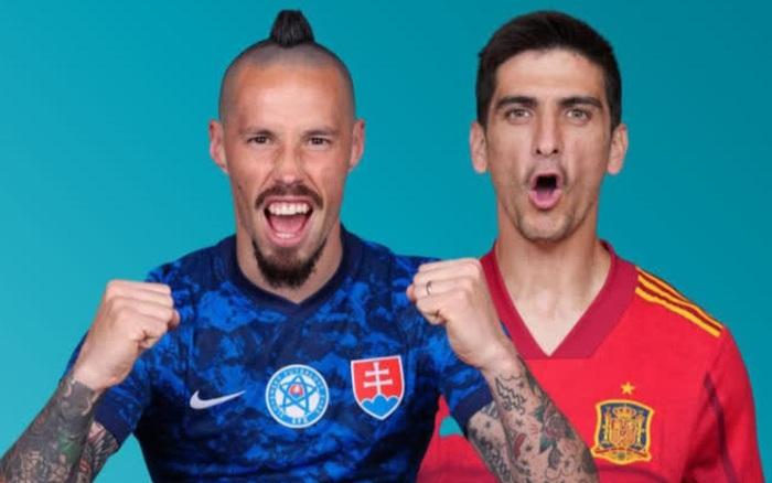 Trực tiếp Tây Ban Nha 0-0 Slovakia (hiệp 1, Euro 2020): Mệnh lệnh phải thắng