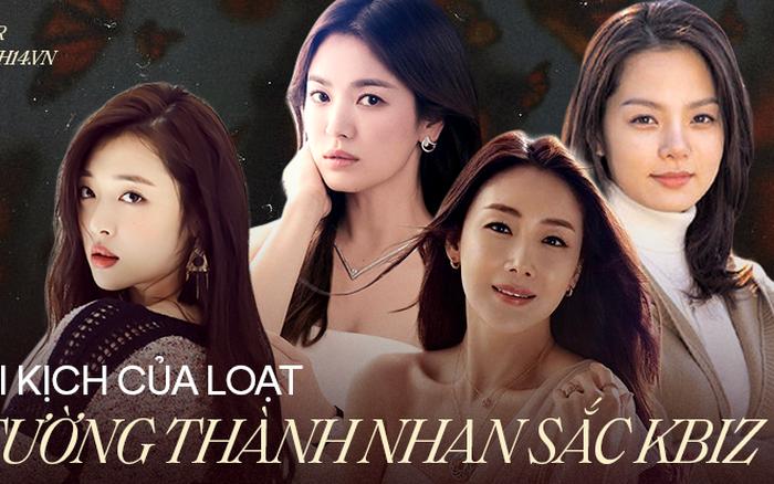 """Những tượng đài nhan sắc thảm nhất Kbiz: Song Hye Kyo ồn ào với cả 3 mối tình, Choi Ji Woo - Chaerim bị """"cắm sừng"""" cả dàn"""