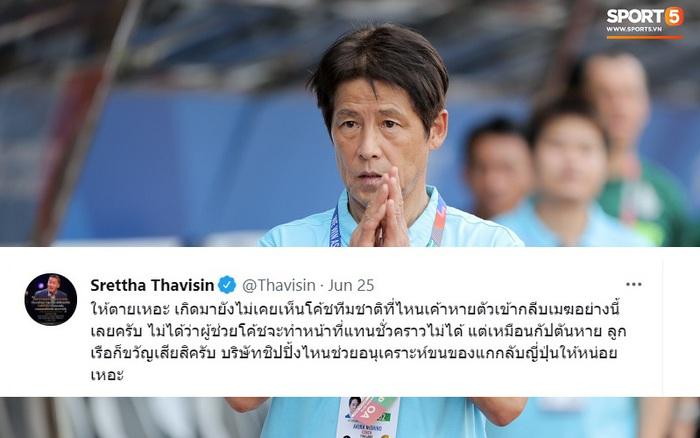HLV Akira Nishino biệt vô âm tín, khiến cựu quan chức bóng đá Thái Lan nổi cáu