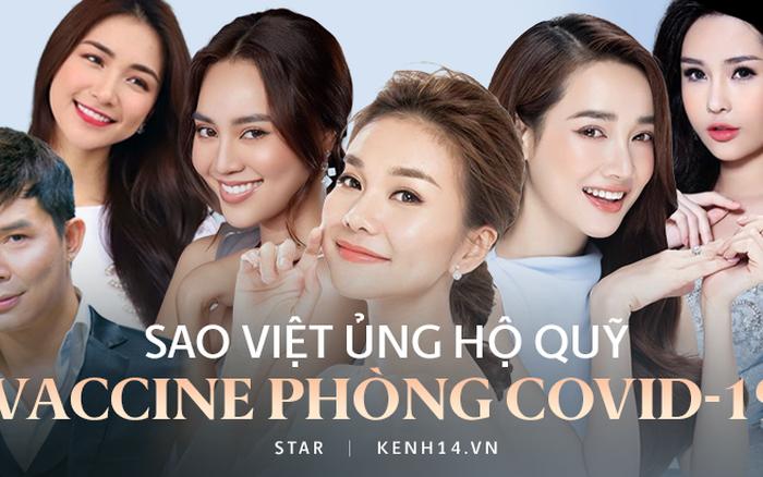 Cả showbiz và dàn KOLs Việt hướng về buổi ra mắt Quỹ vaccine phòng Covid-19, chuyển khoản