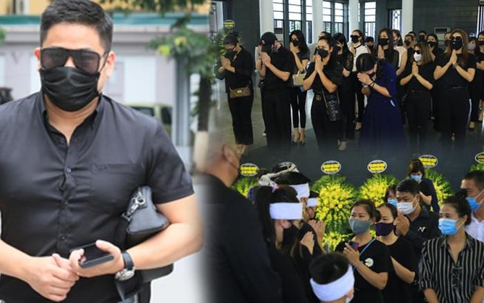 Diễn viên Minh Tiệp bật khóc, Đỗ Mỹ Linh và dàn Hoa hậu cùng nhiều sao Việt nén lòng tiễn đưa Hoa hậu Thu Thuỷ tại lễ tang
