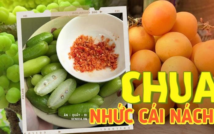 """Việt Nam có những loại quả """"chua vô địch"""" mà 80% chúng ta chưa biết tới, coi tới đâu ứa nước miếng tới đó!"""