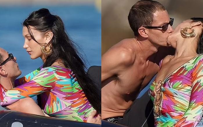 Bella Hadid công khai hôn bạn trai giám đốc say đắm, nhưng bị nghi cố tình trả đũa vì The Weeknd hẹn hò Angelina Jolie?