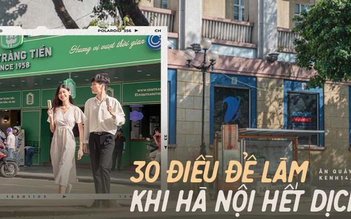 30 điều PHẢI LÀM ở Hà Nội khi mùa dịch qua đi