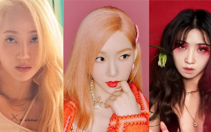 Thành viên Wonder Girls, SNSD, 2NE1 tái xuất tháng 7: Người lọt top 10, kẻ quanh quẩn hạng 100 BXH nhạc số