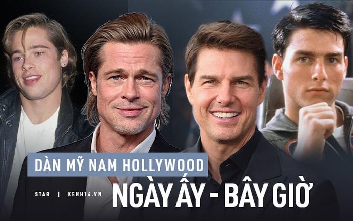 """Dàn mỹ nam huyền thoại giờ ra sao: Tom Cruise, Brad Pitt U60 vẫn đẹp """"chết người"""", Leonardo bị """"heo nhập"""" chưa bằng loạt nam thần hói dần đều"""