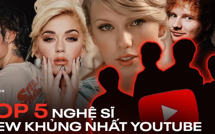 Top 5 nghệ sĩ có lượt view khủng nhất lịch sử YouTube, bất ngờ với sự xuất hiện của một nhóm nhạc Hàn Quốc