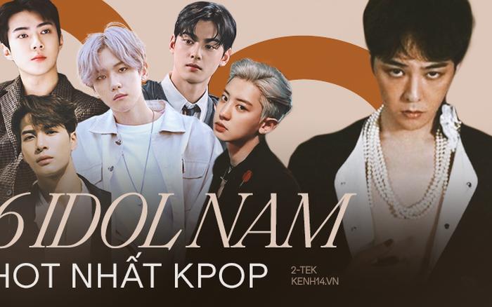 Top nam idol có lượng follow khủng nhất Kpop, bất ngờ với G-Dragon