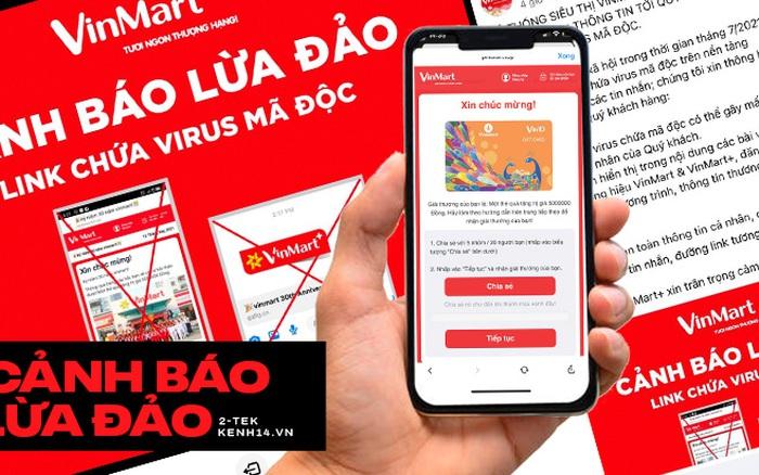 Cảnh báo chiêu trò spam link giả mạo VinMart khiến nhiều người mắc bẫy!