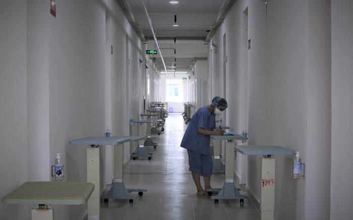 Ảnh: Cận cảnh bệnh viện Dã chiến số 1 điều trị bệnh nhân COVID-19 ở Đà Nẵng