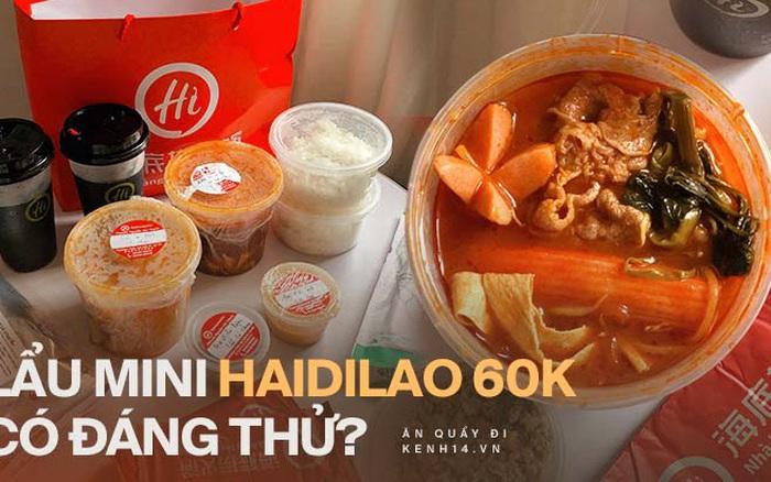 """Review nóng lẩu mini 60k của Haidilao: Điểm sáng mùa dịch hay là """"quả bom xịt"""" của thương hiệu """"Vua lẩu""""?"""