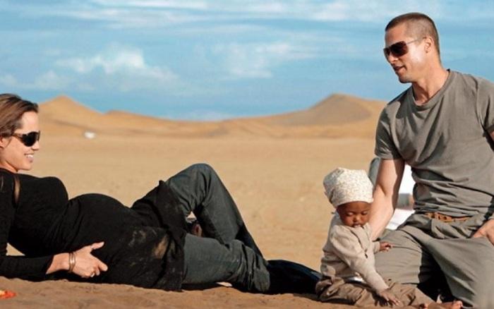 Bóc trần bí mật của Brad Pitt - Angelina Jolie: Dàn xếp paparazzi giả vờ chụp lén để