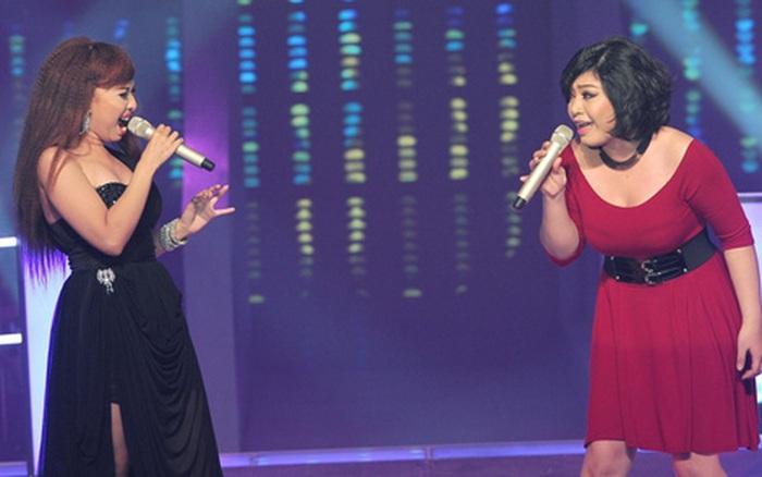 Giọng Hát Việt từng có màn hát như... quát vào mặt nhau, 2 cô gái mạnh ai nấy la!
