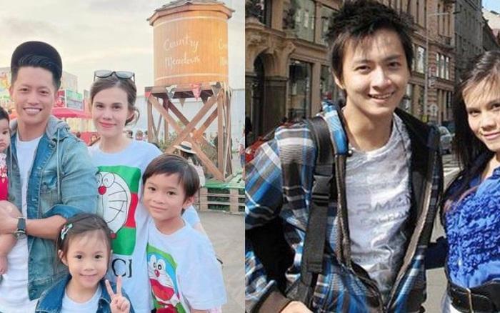 Thanh Thảo khoe ảnh gia đình hạnh phúc của em gái, con chung của Thuỵ Anh và Ngô Kiến Huy giờ lớn và soái lắm rồi