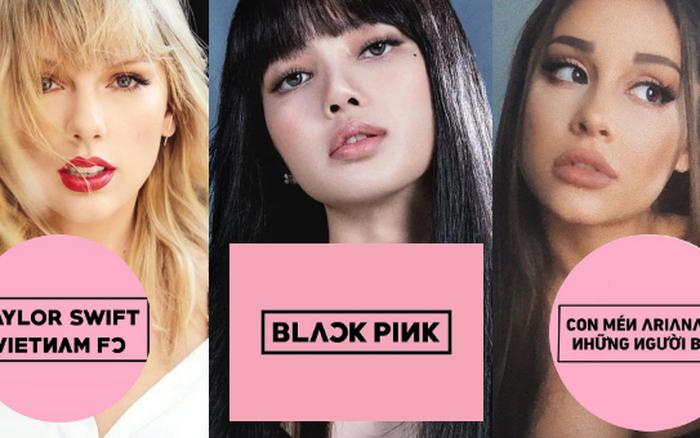1 loạt fanpage của Taylor Swift, Lady Gaga và sao US-UK tại Việt Nam đổi avatar đen hồng như trúng
