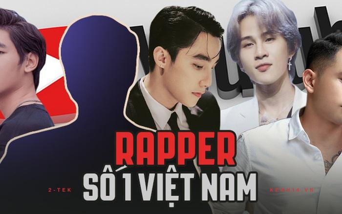 Top 5 ca sĩ có kênh YouTube khủng nhất showbiz Việt: Bất ngờ với một nam rapper đình đám